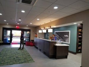 Hotel Lobby LED Installation